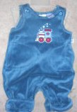 Small Wonders Train One Piece Boys 0-3 months