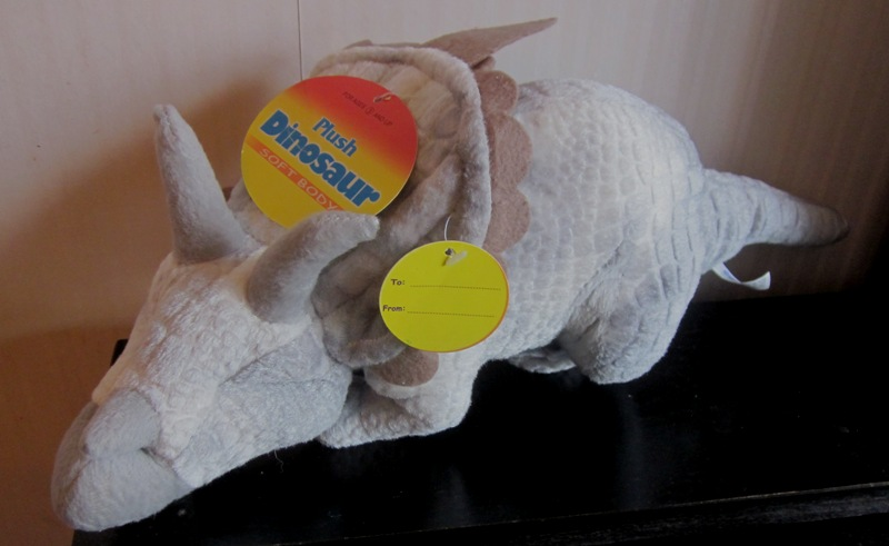 Stuffed Plush Dinosaur Triceratops by Kids Stuff