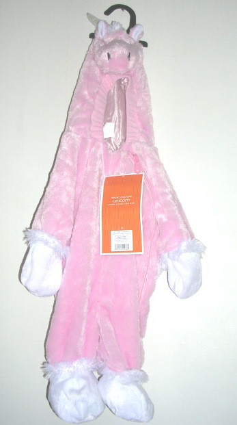 Infant Pink Unicorn Costume 0-3 months Jumpsuit