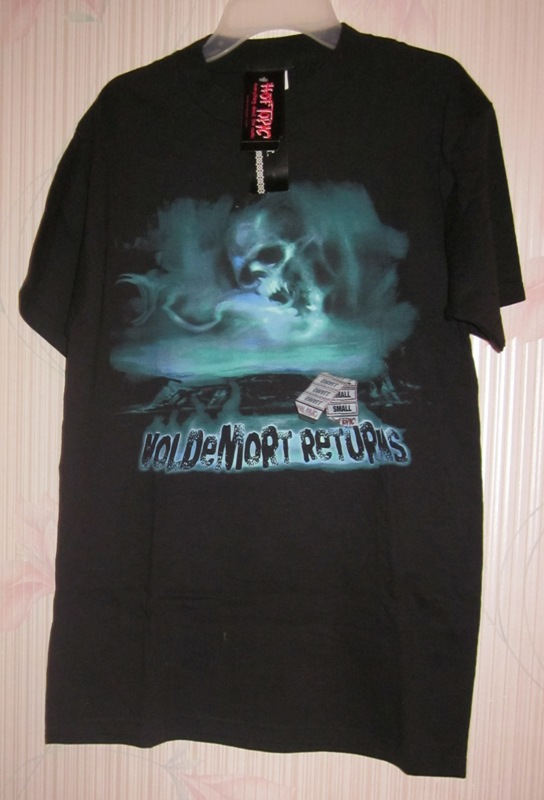 Harry Potter Voldemort Returns T Tee Shirt Black Small Hot Topic