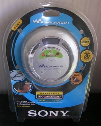 Sony CD Walkman D-EJ621 Silver