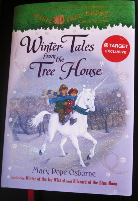 Winter Tales from the Tree House Mary Pope Osborne hardback