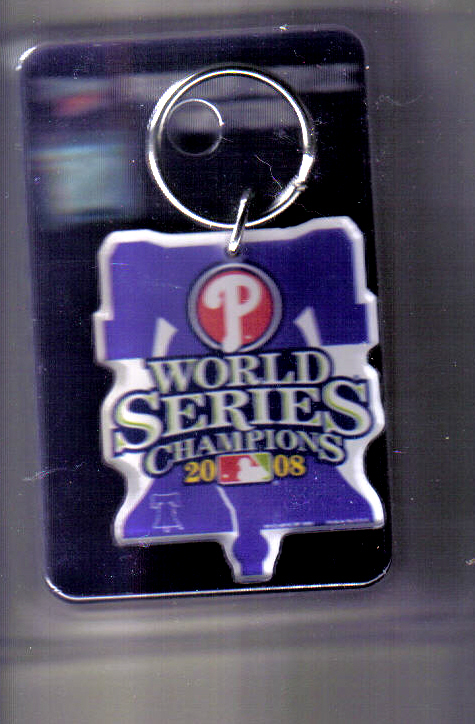 2008 World Series Key Ring Keychain