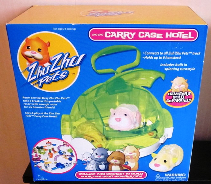 Zhu Zhu Pets Carry Case Hotel