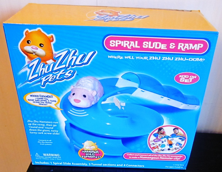 Zhu Zhu Pets Spiral Slide and Ramp